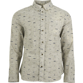 United By Blue M's Norde Stretch LS Button Down Olive-Paddle